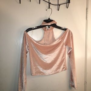 Soft Pink Crop Top